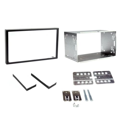 Connects2 Universal Fitting Kit 100mm Double Din Fascia Plates CT23UN01