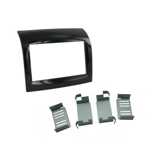 Connects2 Double DIN Stereo Fascia Plate For Fiat - CT23FT17