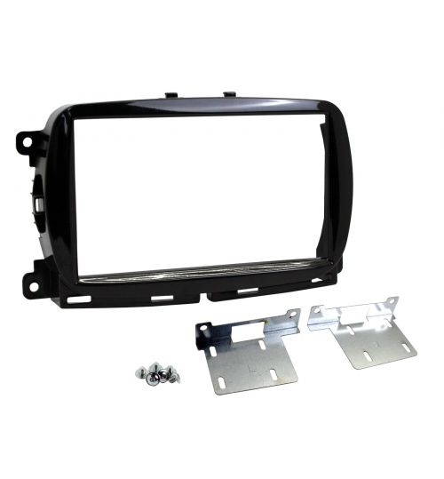 Connects2 Retrofit Car Stereo Fascia Kit (Black) Fiat 500 2015> - CT23FT31