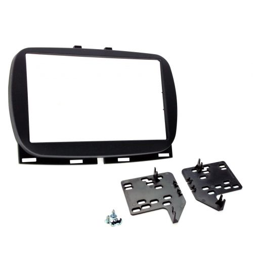 Connects2 Retrofit Car Stereo Fascia Kit (Black) Fiat 500 2017> - CT23FT34