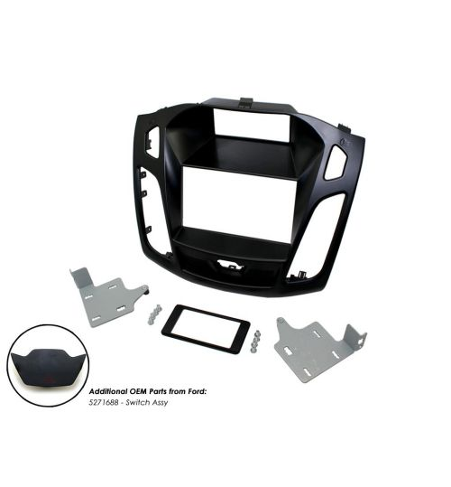 Connects2 Double DIN Stereo Fascia Adapter For Ford - CT23FD64