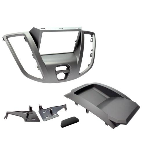 Connects2 Retrofit Car Stereo Fascia Kit Ford Transit 2DIN Grey - CT23FD68