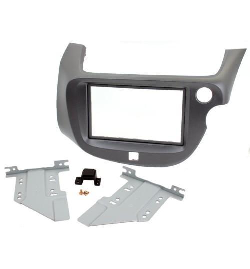 Connects2 Retrofit Car Stereo Fascia Kit (Dark Grey) Honda Jazz 2009-2013 - CT23HD35