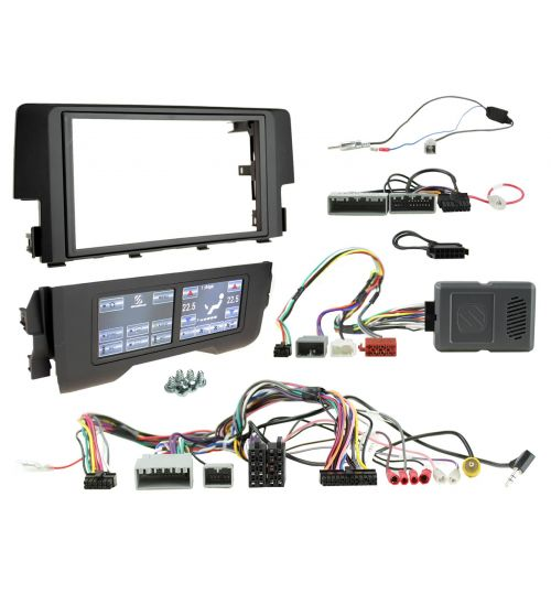 Connects2 Double DIN Car Stereo Fitting Kit - Honda Civic - 2016-2020 - CTKPHD02