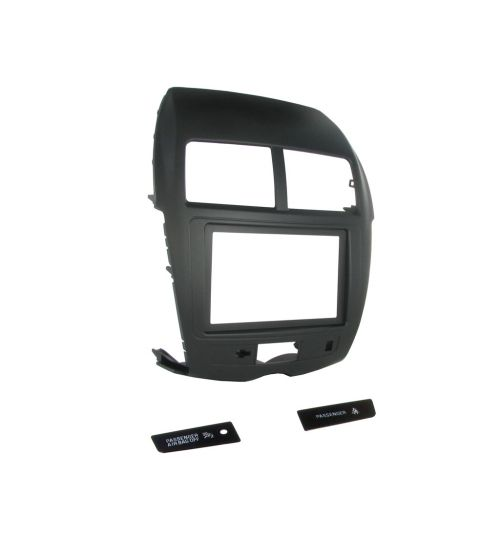 Connects2 Double Din Fascia Fitting Kit For Mitsubishi - CT23MT14