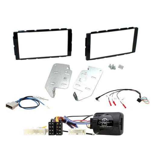 Retrofit Car Stereo Fitting Kit - Nissan Juke F15 - Black - CTKNS14