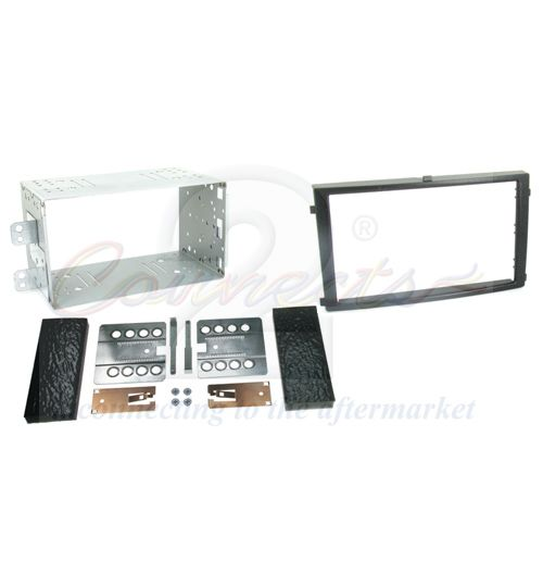 Connects2 Double Din Fascia Fitting Adaptor For SsangYong - CT23SY02