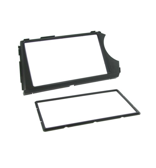 Connects2 Double Din Fascia Fitting Adaptor For SsangYong - CT23SY04