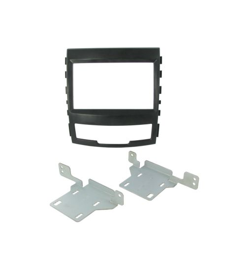 Connects2 Double Din Fascia Fitting Adaptor For SsangYong - CT23SY05