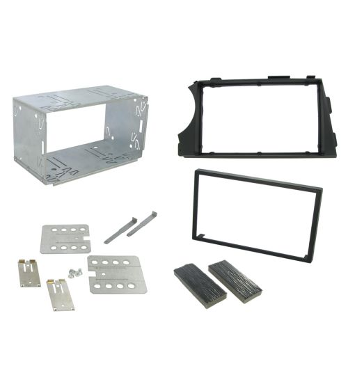Connects2 Double Din Fascia Fitting Adaptor For SsangYong - CT23SY08L