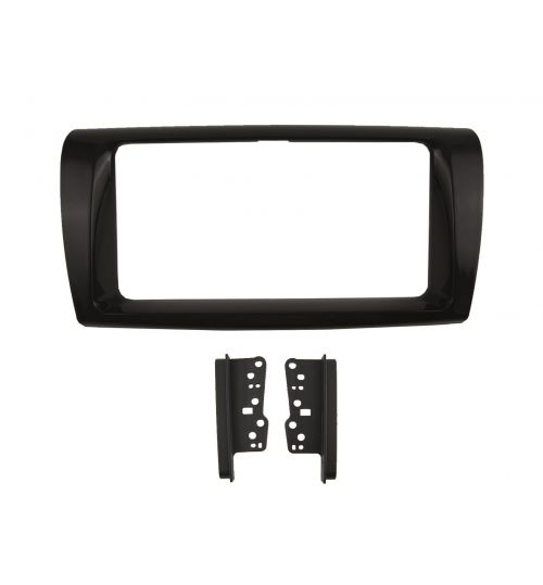 Connects2 Retrofit Car Stereo Fascia Kit (Black) Toyota Yaris 2017 - 2020  - CT23TY103