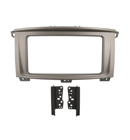 Connects2 Retrofit Car Stereo Fascia Kit (Silver) Toyota Land Cruiser 2007> - CT23TY92