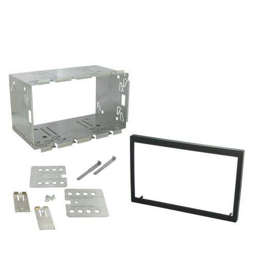 Connects2 Universal Fitting Kit 110mm Double Din Fascia Plates CT23UN02