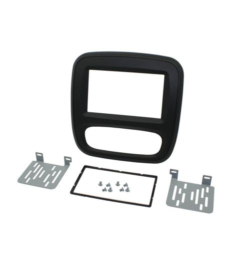 Connects2 Double Din Fascia Fitting Adaptor For Vauxhall - CT23VX49