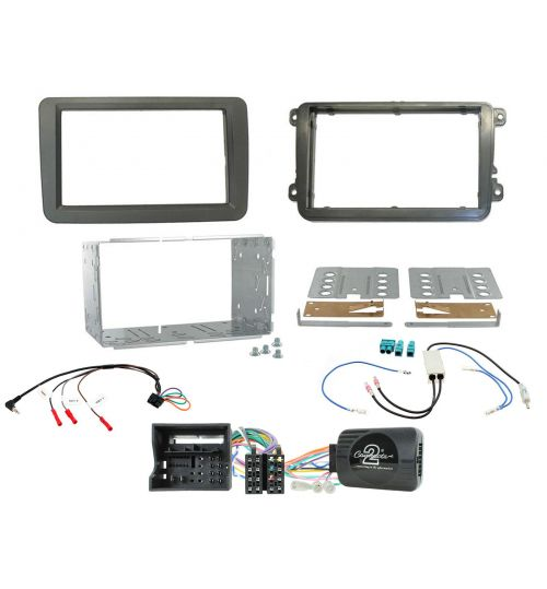 Connects2 Double DIN Car Stereo Fitting Kit - Volkswagen (VW) - MIB-PQ - CTKVW26