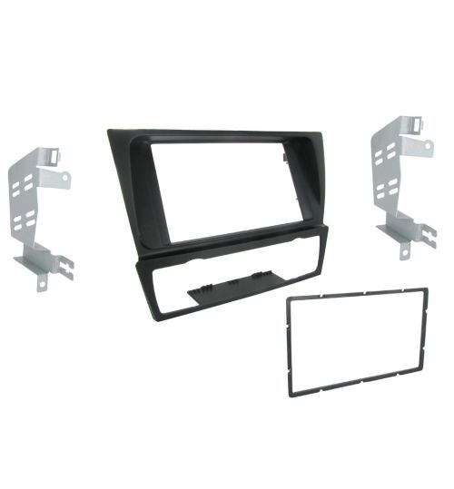 Connects2 Double DIN Stereo Fascia Plate For BMW - CT23BM04