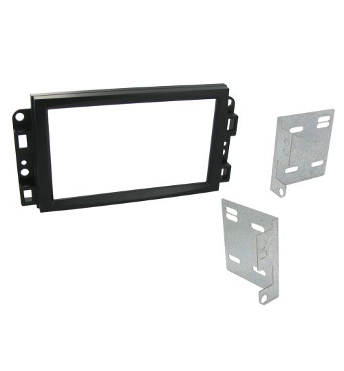 Connects2 Double DIN Stereo Fascia Plate For Chevrolet - CT23CV10