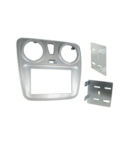 Connects2 Double DIN Stereo Fascia Plate For Dacia - CT23DC06