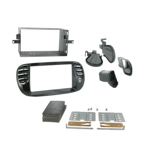 Connects2 Double DIN Stereo Fascia Plate For Fiat - CT23FT13