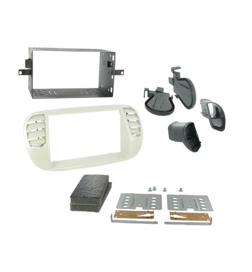 Connects2 Double DIN Stereo Fascia Plate For Fiat - CT23FT14