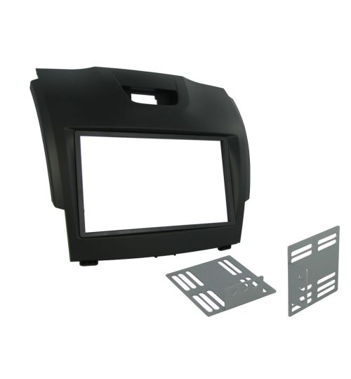 Connects2 Double DIN Stereo Fascia Plate For Isuzu - CT23IZ02