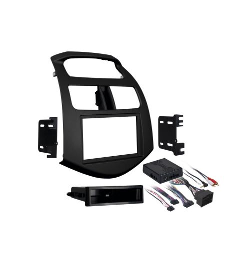 Connects2 Single/Double DIN Stereo Fascia For Chevrolet - CT24CV09