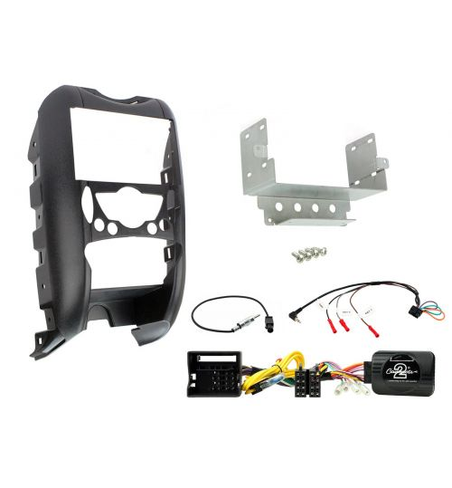 Connects2 Car Stereo Fitting Kit Double DIN Facia Radio Installation For BMW - CTKBM02