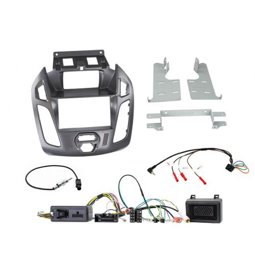 Connects2 Stereo Fitting Kit Double DIN Fascia Radio Installation Ford Transit-Connect - CTKFD79