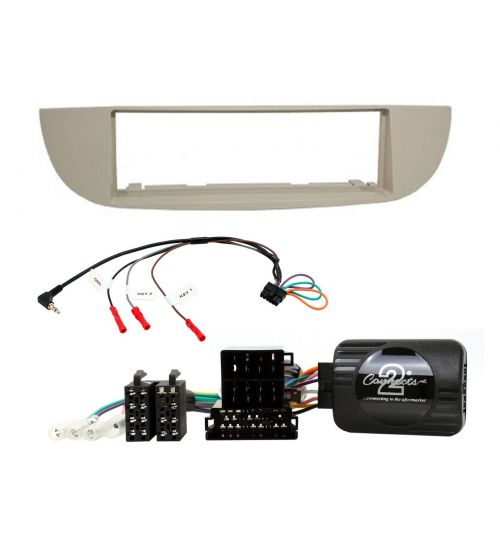 Connects2 Retrofit Car Stereo Fitting Kit Fiat 500 (Type 312) Ivoy - CTKFT26