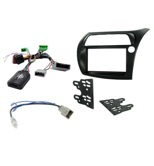 Connects2 Car Stereo Fitting Kit Double DIN Facia Radio Installation For Honda - CTKHD01