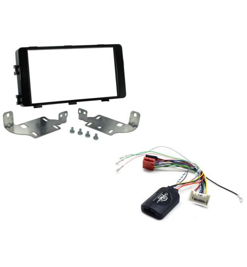 Connects2 Car Stereo Fitting Kit Double DIN Facia Radio Installation For Mitsubishi -  CTKMT11