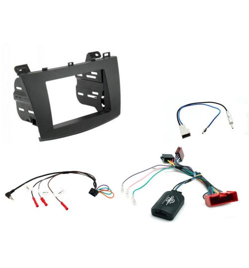 Connects2 Car Stereo Fitting Kit Double DIN Facia Radio Installation For Mazda - CTKMZ07