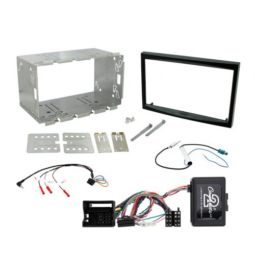 Connects2 Car Stereo Fitting Kit Double DIN Facia Radio Installation For Peugeot - CTKPE04