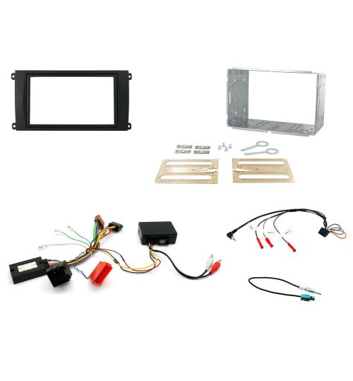 Connects2 Car Stereo Fitting Kit Double DIN Facia Radio Installation For Porsche - CTKPO02