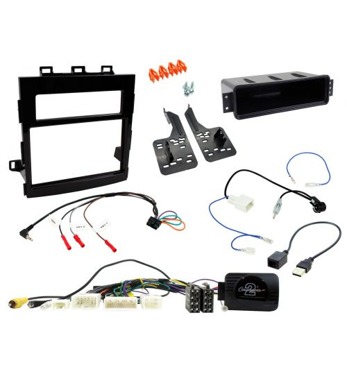 Connects2 Car Stereo Fitting Kit Double DIN Facia Radio Installation For Subaru - CTKSU03