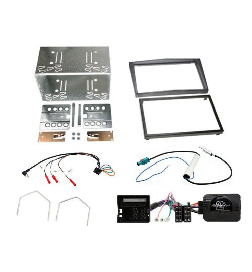 Connects2 Car Stereo Fitting Kit Double DIN Facia Radio Installation For Vauxhall - CTKVX33