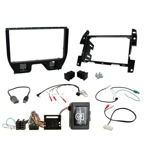 Connects2 Car Stereo Fitting Kit Double DIN Facia Radio Installation For Citroen - CTKCT04