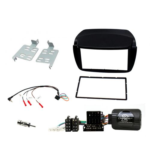 Connects2 Car Stereo Fitting Kit Double DIN Facia Radio Installation For Fiat Doblo -  CTKFT11