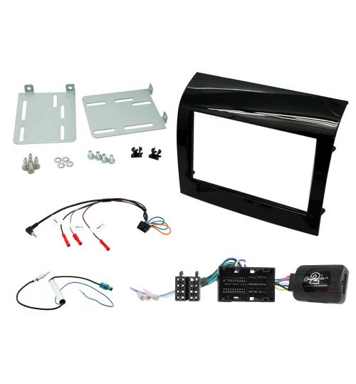 Connects2 Car Stereo Fitting Kit Double DIN Facia Radio Installation For Fiat -  CTKFT14