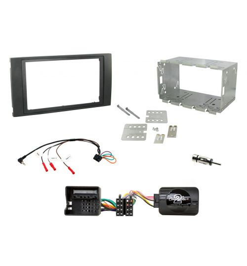 Connects2 Car Stereo Fitting Kit Double DIN Facia Radio Installation For Ford - CTKFD46