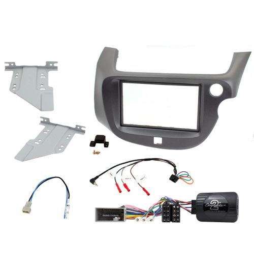 Connects2 Car Stereo Fitting Kit Double DIN Facia Radio Installation For Honda - CTKHD17