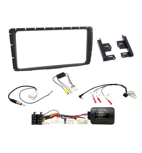 Connects2 Car Stereo Fitting Kit Double DIN Facia Radio Installation For Toyota - CTKTY10