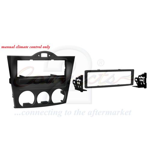 Connects2 Single DIN Stereo Fascia Adapter For Mazda RX-8 - CT24MZ11