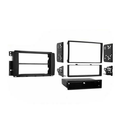 Connects2 Single/Double DIN Stereo Fascia Adapter For Smart - CT24MM07