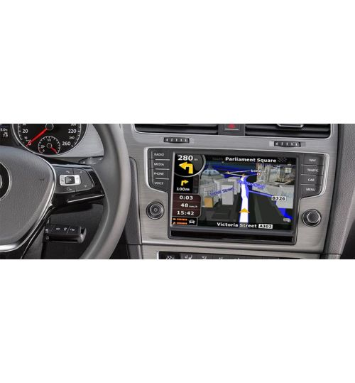 Adaptiv Multimedia Integration - OEM Multimedia and Navigation Upgrade For Audi A3 A4