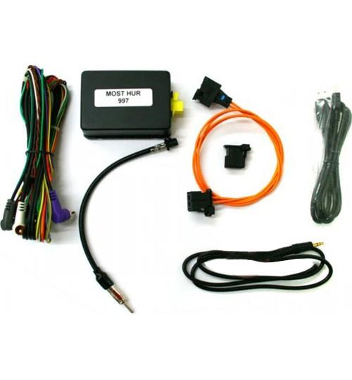 NAVTV MOST / BOSE AMP Stereo Wiring Harness Adaptor For Porsche