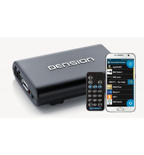 Dension DAB+A DAB Receiver with Remote Control - DBA1GEN