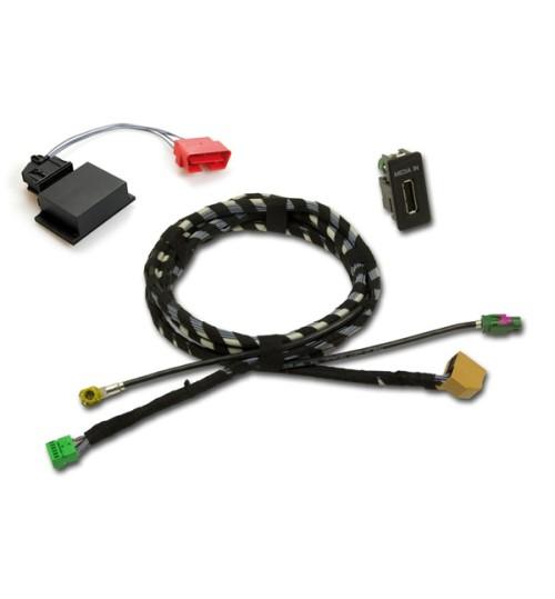 FISCON 40073 Media-in Multimedia Socket for Skoda Octavia 5E