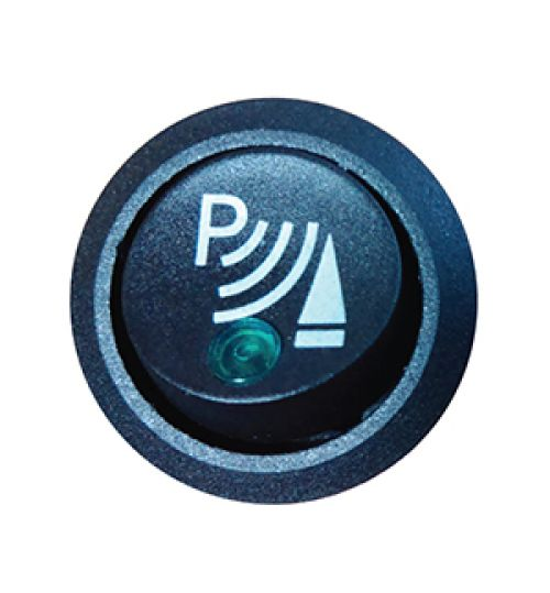 Steelmate Front Parking Sensor On Off Switch with 'P' Logo