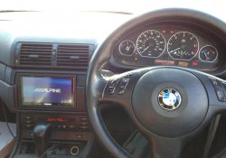 BMW 3 Series Radio Conversion Alpine iLX-700